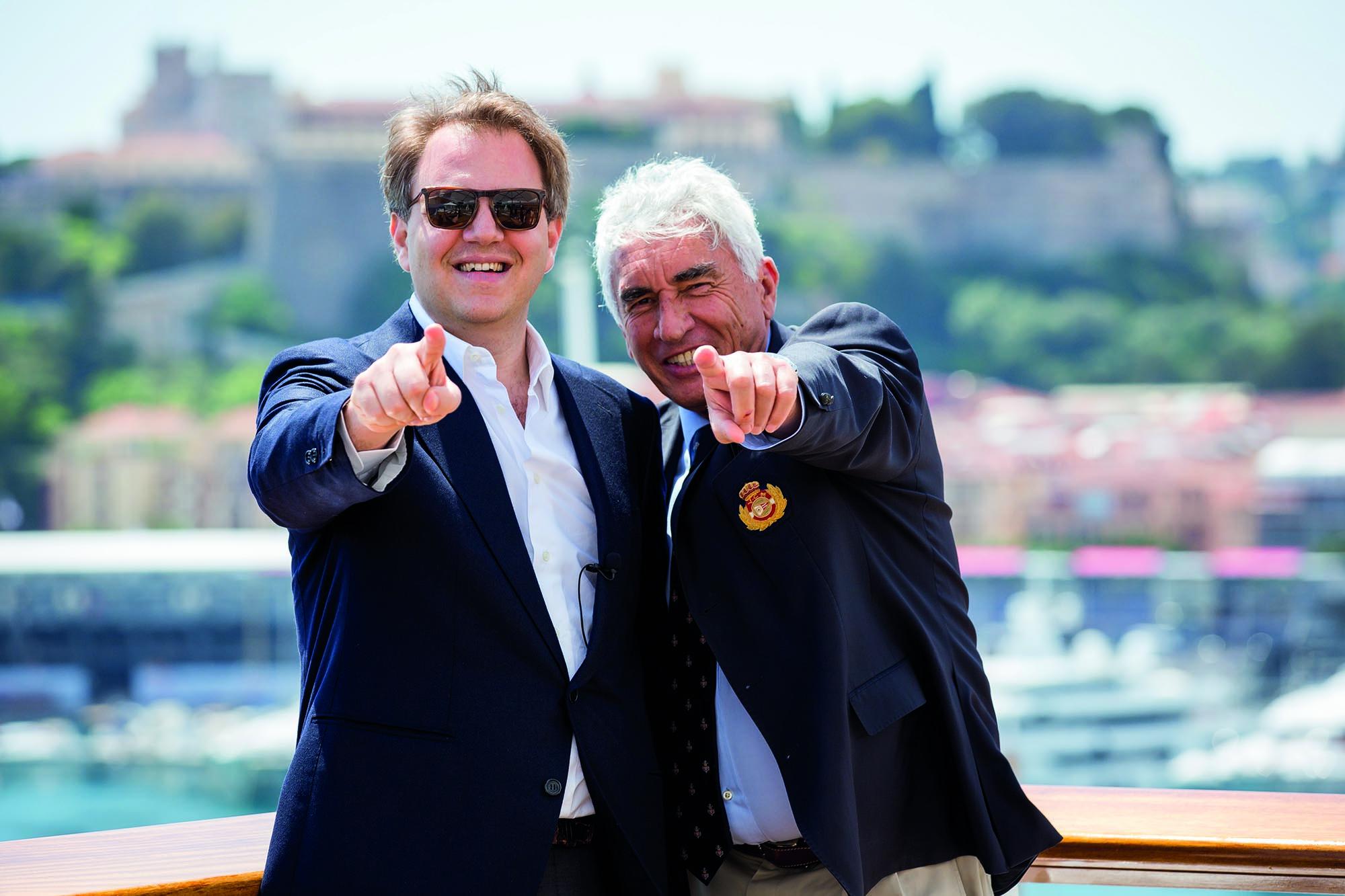 Philippe Ghanem & Bernard d'Alessandri